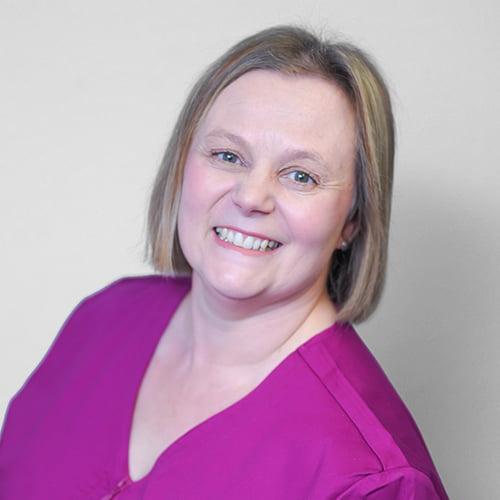 Jo Percival, dental nurse/receptionist at Elmet Dental Care